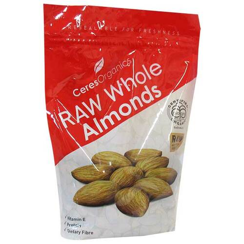 Organic Raw Whole Almonds