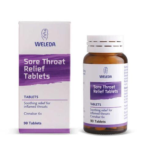 Cinnabar 6x (Sore Throat Relief)