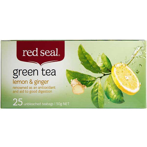 Lemon & Ginger Green Tea
