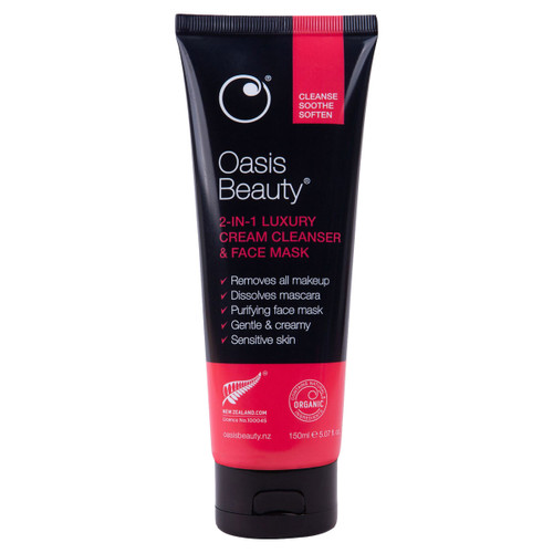 2-in-1 Luxury Cream Cleanser & Face Mask