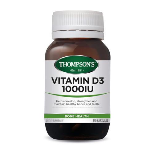 Vitamin D3 1000IU - Bone Health