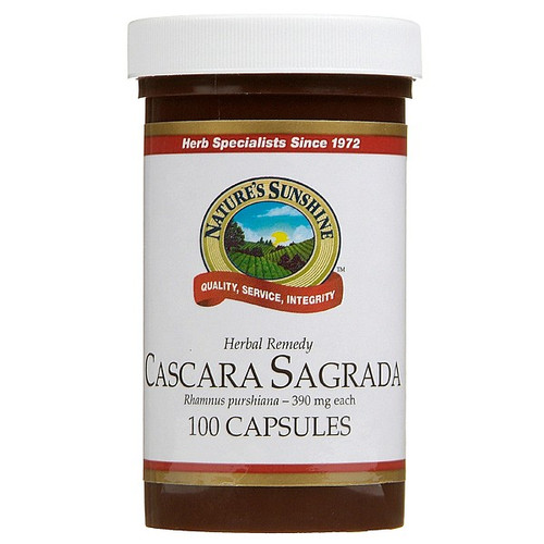 Cascara Sagrada 390mg
