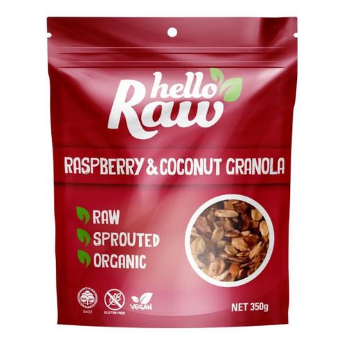 Raspberry & Coconut Granola