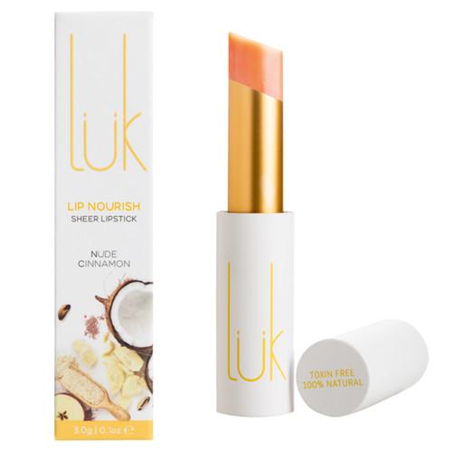 Lip Nourish Sheer Lipstick - Nude Cinnamon