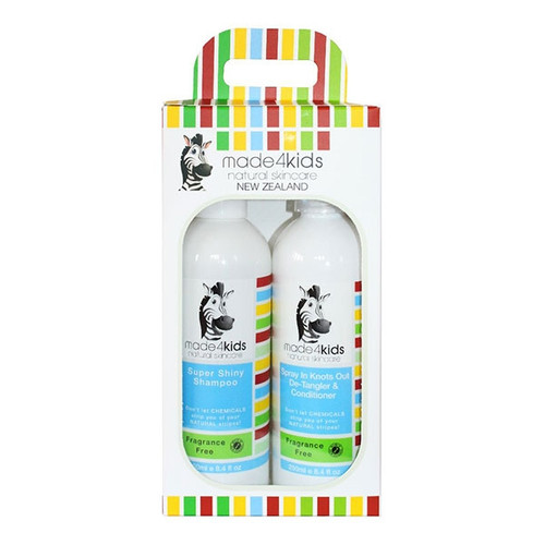 Shampoo & Detangler Conditioner Combo Pack