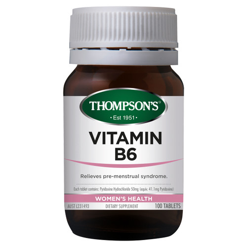 B6 (Pyridoxine) 50mg