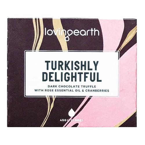Turkishly Delightful Dark Chocolate Truffle