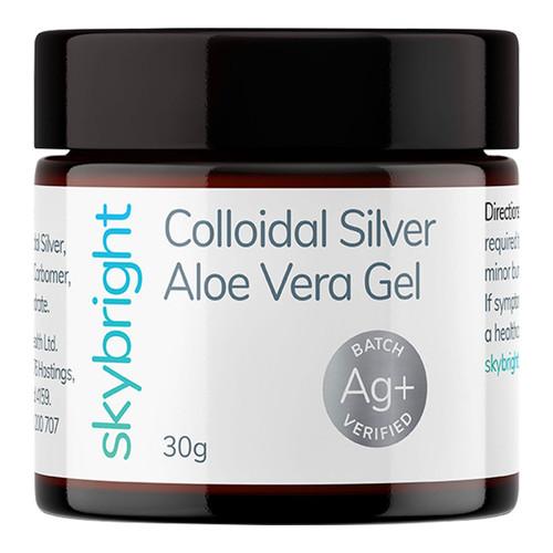 Colloidal Silver Aloe Vera Gel