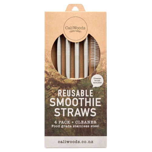 Reusable Metal Smoothie Straws