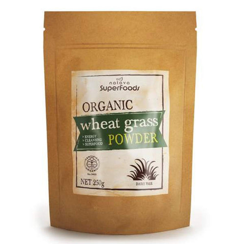 Certified Organic Wheat Grass Powder