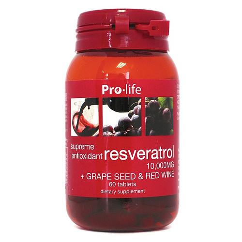 Resveratrol + Grape Seed & Red Wine