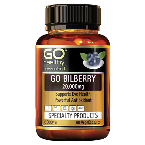 Go Bilberry 20,000mg