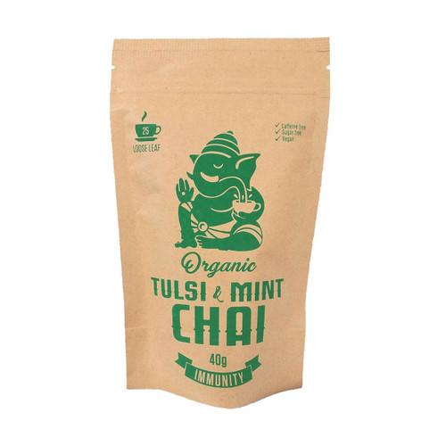 Organic Tulsi & Mint Chai