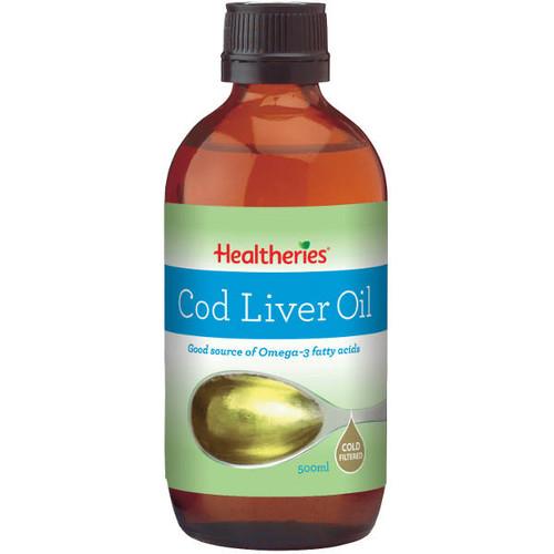 Cod Liver Oil - Cold Filtered