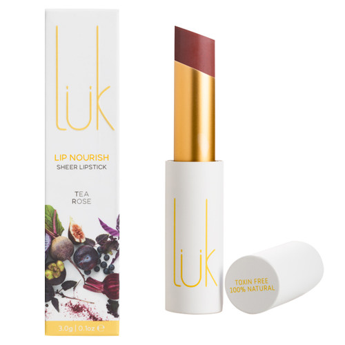 Lip Nourish Sheer Lipstick - Tea Rose