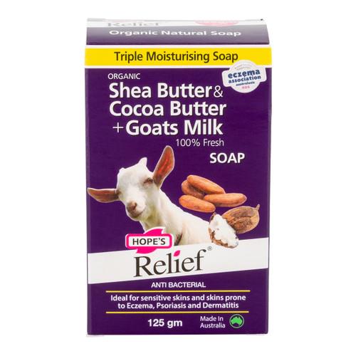 Goat's Milk, Shea & Cocoa Butter Soap