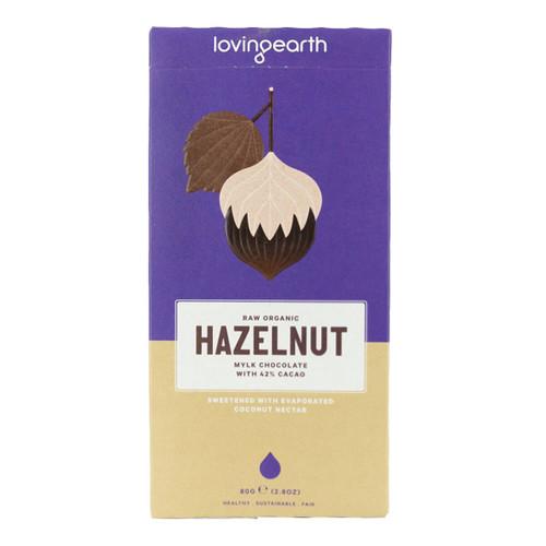 Raw Organic Hazelnut Mylk Chocolate
