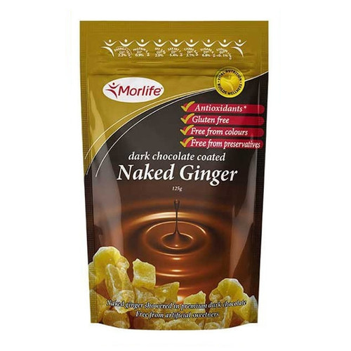 Dark Chocolate Coated Naked Ginger