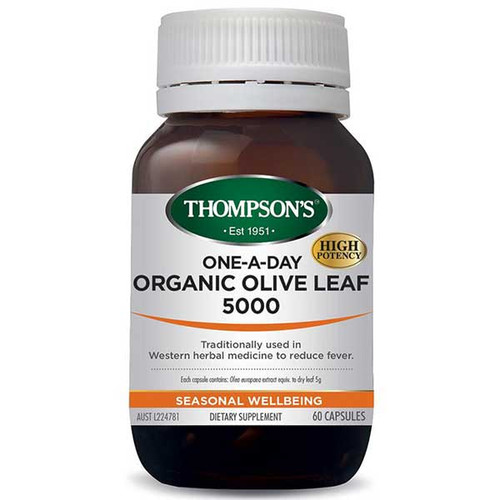 Organic Olive Leaf 5000 One-A-Day
