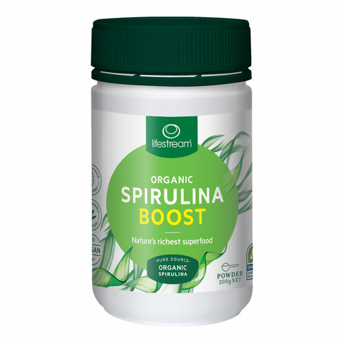 Organic Spirulina Boost Powder