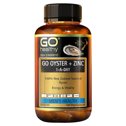 Go Oyster + Zinc 1-A-Day
