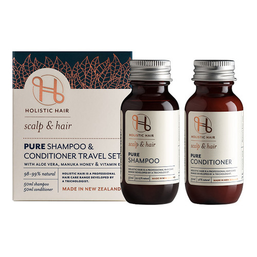 Pure Shampoo & Conditioner Travel Set