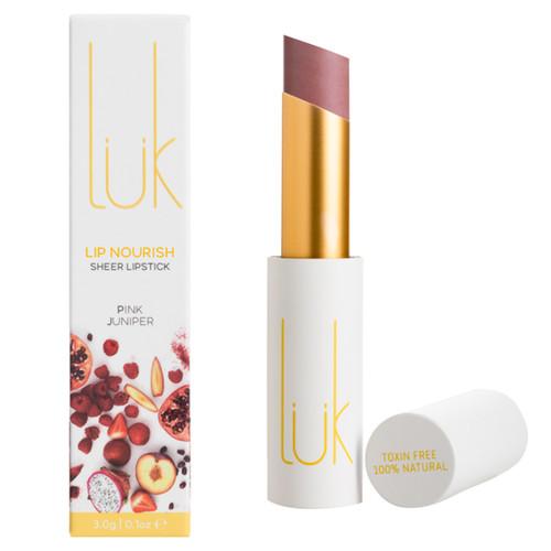 Lip Nourish Sheer Lipstick - Pink Juniper