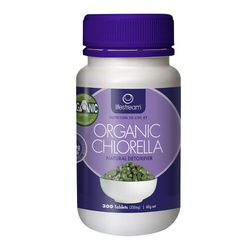 Certified Organic Chlorella - 200mg tablets