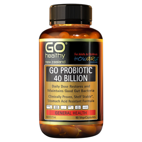 Go Probiotic 40 Billion