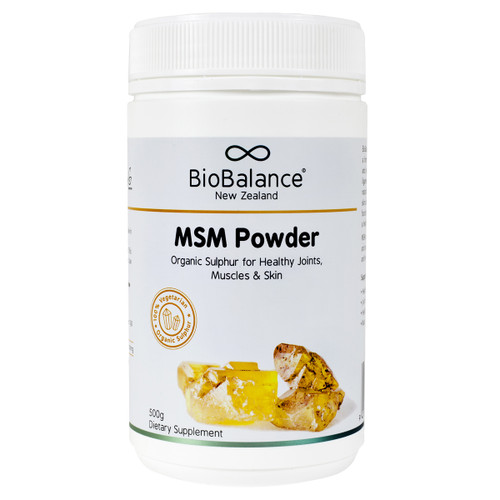 MSM Powder - For Healthy Joints, Muscles & Skin