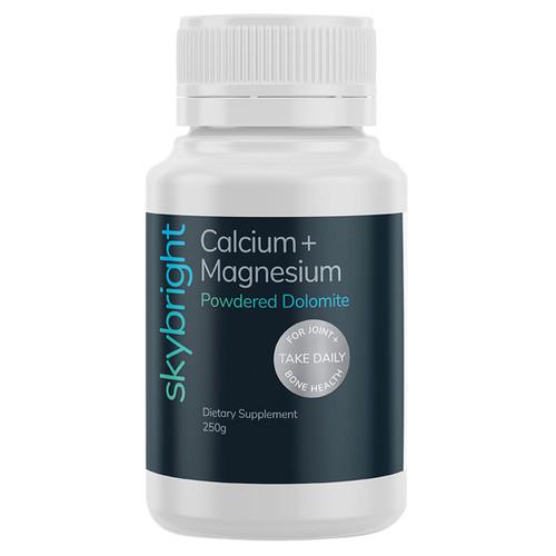 Calcium + Magnesium Dolomite Powder