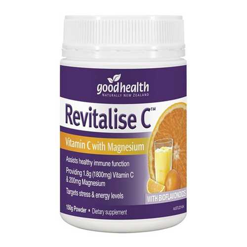 Revitalise - Vitamin C & Magnesium Powder