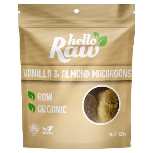 Vanilla & Almond Macaroons
