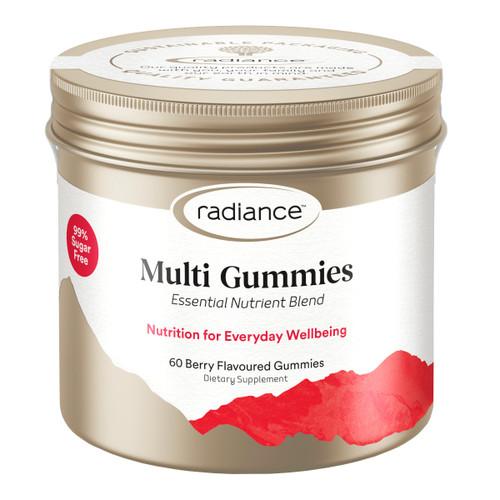 Sugar Free Multi Vitamin Gummies For Adults