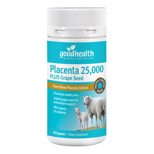 Placenta 25,000 plus Grape Seed
