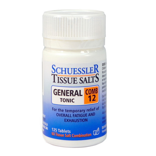 Combination 12 - General Tonic Tablets