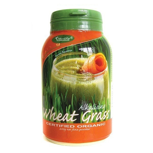 Alkalising Wheat Grass