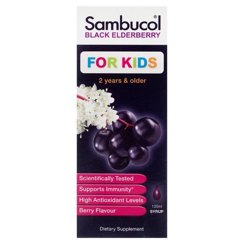 Sambucol Black Elderberry Liquid For Kids