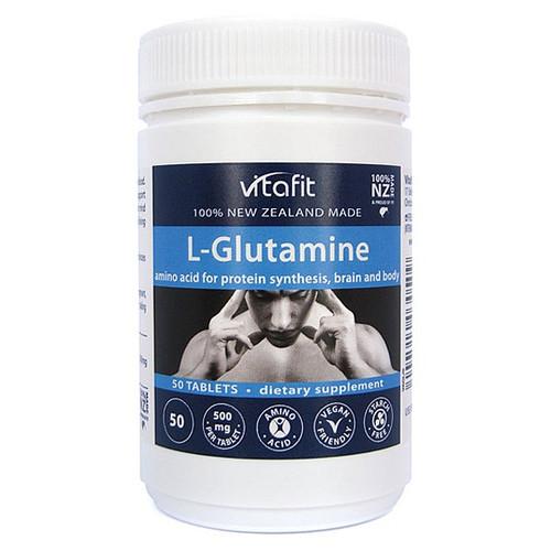 L-Glutamine 500mg - Amino Acid