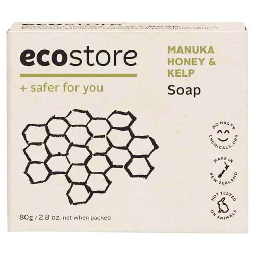 Manuka Honey & Kelp Soap