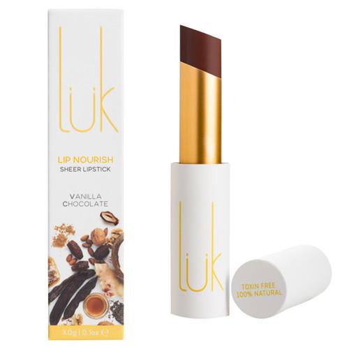 Lip Nourish Sheer Lipstick - Vanilla Chocolate