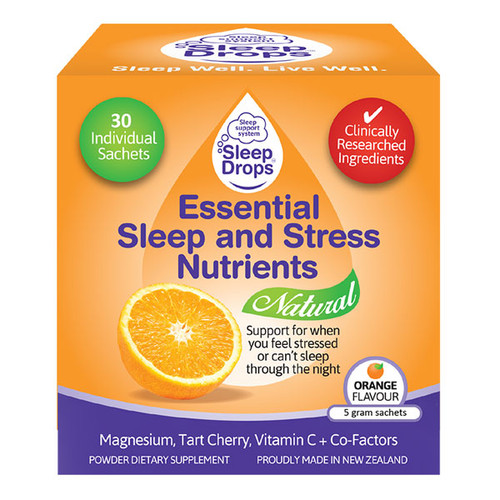 Sleep Drops Essential Sleep Nutrients