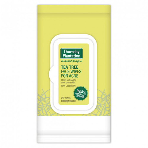 Tea Tree Face Wipes for Acne