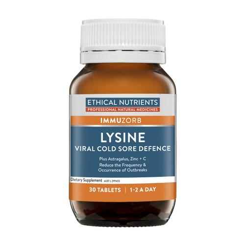 ImmuZorb Lysine Viral Cold Sore Defence