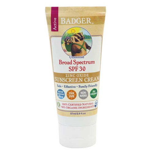 Active Sunscreen Unscented SPF30