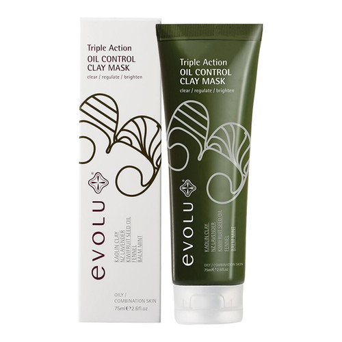 Triple Action Oil Control Clay Mask