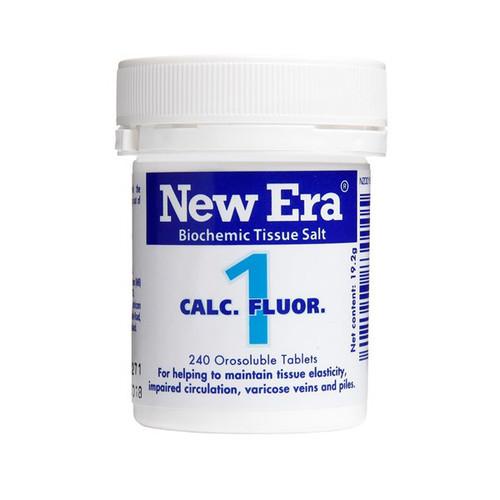 No.1 Calc Fluor - The elasticity nutrient