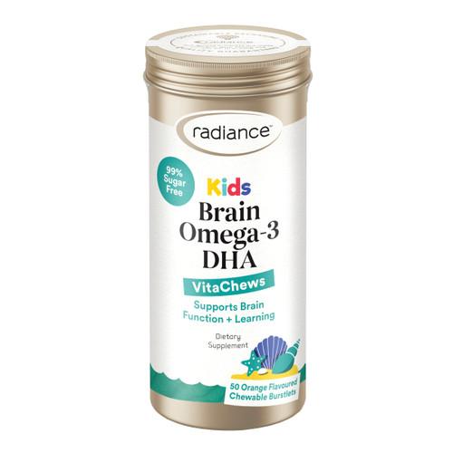 Kids Brain Omega 3 DHA VitaChews