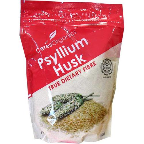 Certified Organic Psyllium Husk