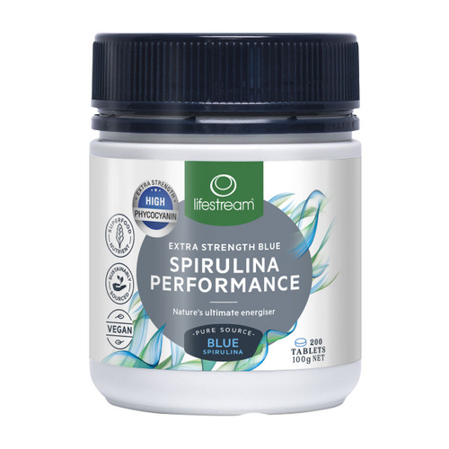 Extra Strength Blue Spirulina  Performance